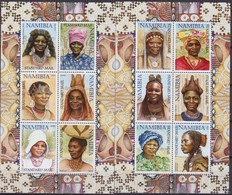 Namibia Costumi 2002 Headdress / Wig / Hair / Costumes - Costumi