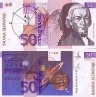 BILLET SLOVÉNIE 50 TALA - 1992 - Slovénie