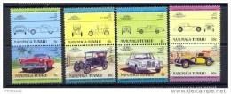F3239- Set MNH 1984 Nanumaga - Tuvalu Automobiles-Cars - Auto's