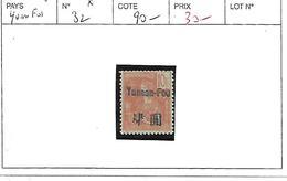 YUNNANFOU N° 32 * - Unused Stamps
