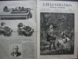 L'ILLUSTRATION 1830 SAN STEFANO / PHONOGRAPHE/ JOSEPH BALSAMO - Newspapers