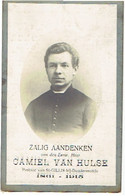 E.H. VAN HULSE Camiel - ST. GILLIS-DENDERMONDE / ST. JAN-IN-EREMO / ZEGELSEM / MEULESTEDE / MOERBEKE / KRUISSTRAAT +1915 - Images Religieuses