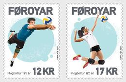 Faeroër / Faroes - Postfris / MNH - Complete Set 125 Jaar Volleybal 2020 - Faroe Islands