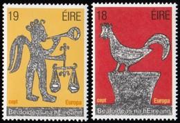 IRELAND - Scott #496-497 Europa '81, Rubbing / Set Of 2 MNH Stamps (CV $5.50) - 1949-... Republic Of Ireland