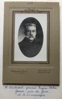 Bihin Eugène   Lieutenant Général Au Génie        Sa Foto 1917.   Sa CI +. 2 Fotos Militair 14/18.  Et  1920 - Guerre, Militaire