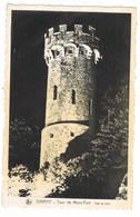 Dinant : Tour De Mont-Fort . Vue Le Soir ( 2 Scans) - Dinant