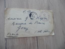 Lettre France Poste Maritime Naval Cachet Marine Nationale Etablissements De L'Océanie 1948 E.F.U. - Storia Postale