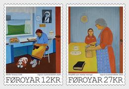 Faeroër / Faroes - Postfris / MNH - Complete Set Kunst 2020 - Faroe Islands