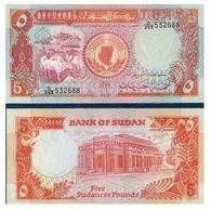 BILLET SOUDAN 5 POUNDS - Soudan