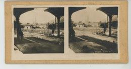PHOTOS STEREOSCOPIQUES - GUERRE 1914-18 - Photo STEREO - ALSACE - Gare De THANN (68 ) - Photos Stéréoscopiques