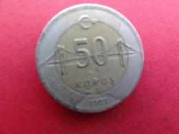 Turquie  50 Kurus  2009  Km 1243 - Turquie