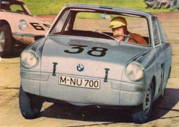 BMW 700 Rallye Coupe  1960  -  Pilote: Hans Stuck  -  CPM - Rally