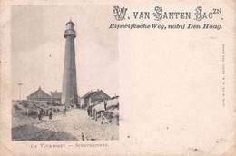 DE VUURTOREN - SCHEVENINGEN, NETHERLANDS - AN EARLY 1890's -1901 VINTAGE POSTCARD - UNPOSTED #21377 - Scheveningen