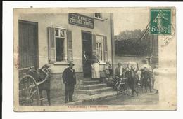 CPA  Du Village De  Vers (sur Selle ?) Dans La Somme (80) - Route De Conty - Café Porchez Mantel - 1910 - Autres Communes