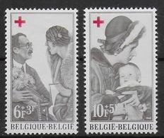 COB 1454 à 1455 Avec Charnières - Belgium