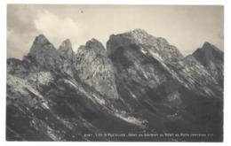 Suisse. Les 3 Pucelles, Dent De Savigny, Dent De Ruth (versant Est) (8609) - FR Fribourg