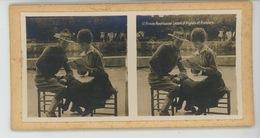PHOTOS STEREOSCOPIQUES - GUERRE 1914-18 - Photo STEREO - Armée Américaine - Leçons D'Anglais Et Français - Photos Stéréoscopiques