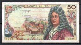 628-France Billet De 50 Francs 1975 H D284 - 1962-1997 ''Francs''