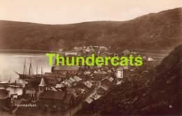 CPA CARTE DE PHOTO FOTO NORWAY NORGE HAMMERFEST - Norvège