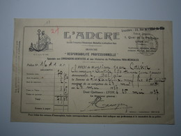1937 LYON L'ANCRE CHIRURGIENS DENTISTES...PARA-MÉDICALES - BELFORT Jean COUSIN CHIRURGIEN DENTISTE - 1900 – 1949