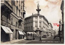 MILANO-CORSO ITALIA-PALAZZO T.C.-TRAM-1941 - Milano (Milan)