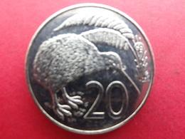 New Zealand  20  Cents  1989  Km 62 - New Zealand