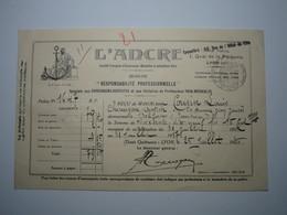 1936 LYON L'ANCRE CHIRURGIENS DENTISTES...PARA-MÉDICALES - BELFORT Jean COUSIN CHIRURGIEN DENTISTE - 1900 – 1949