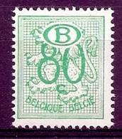 BELGIE * Nr S 54  (2) * Postfris Xx * DIENSTZEGEL * HERALDISCHE LEEUW - Service