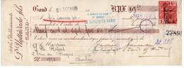 ETABLISSEMENTS P. UYTTENDAELE FILS - GAND - 1926. - Lettres De Change