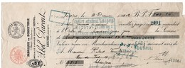 FABRIQUE DE BONNETERIE - ABEL PARENT - LEUZE HAINAUT - 1912. - Lettres De Change