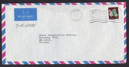 Kenya: Airmail Cover To Netherlands, 1980, 1 Stamp, Fluorite Mineral, Mining, 2nd Class Rate (backflap Missing) - Kenya (1963-...)