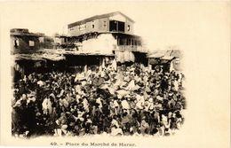 CPA AK Djibouti- Place Du Marche De Harar SOMALIA (831363) - Somalia