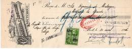 COMMERCE ET INDUSTRIE DU CAOUTCHOUC - DYNAMITE DE MATAGNE - 1925. - Lettres De Change