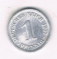 1 PFENNIG  1917  G   DUITSLAND /1421/ - [ 2] 1871-1918 : Empire Allemand