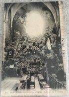 51 Sainte Menehould 1914 Eglise Hotel De La Grotte -dos Vert - Sainte-Menehould