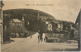 Lahr I. B. 05 - Villenviertel Am Alvater - Lahr