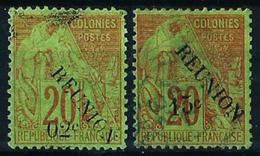 Reunión (Francesa) Nº 29/30 Usado Cat.43€ - Used Stamps