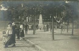 Carte-photo - VALENTON (94)  - Inauguration ?  Monument Aux Morts - Valenton
