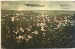 Lahr I. B. 09 - Zeppelin III Farth Nach Frankfurt A. M. Am 11. Septmber 09. - Lahr