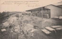 AUNEAU (28) - Construction D'une Voie Ferrée Dans Un Dépôt De Matériel De Guerre - - Auneau