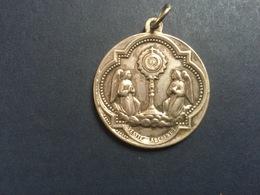 Ancienne Médaille Religieuse 33mn - Godsdienst & Esoterisme