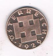 2 GROSCHEN  1929 OOSTENRIJK /1439// - Autriche