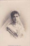 Thèmes > Familles Royales Imperatrice De Russie  Alexandra Feodorovna Femme De Nicolas II S I P Précurseur - Familles Royales