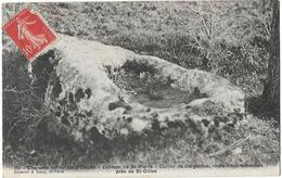 17 OLERON DOLMEN DE ST PIERRE CUILLERE DE GARGANTUA  211 - Ile D'Oléron