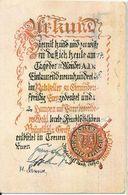 Gmunden 1938, Farbige Ratskeller Gruss AK. #2299 - Oostenrijk