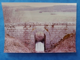 Photo Ouvrage Sur La Ligne Des Chemins De Fer Vicinaux Entre Flagy Et Auxon 1983  Haute Saône Franche Comté - Altri Comuni