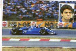 Formula 1 Season 1983  -  Ligier-Ford JS21  -  Raoul Boesel -  CPM - Grand Prix / F1