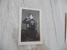 Photo CDV Militaire Militaria  Officier Sabre Décoration Médailles - Guerra, Militari