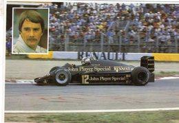 Formula 1 Season 1983  -  Lotus-Renault 94  -  Nigel Mansell  -  CPM - Grand Prix / F1