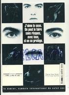 Publicité Pour La Lutte Contre Le SIDA. Le Sexe Sans Risques. Le Damier, Symbole International Du Safer Sex - Santé